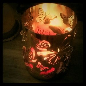 Other - Butterfly Lace Design - Candle Sleeve/Holder - LRG